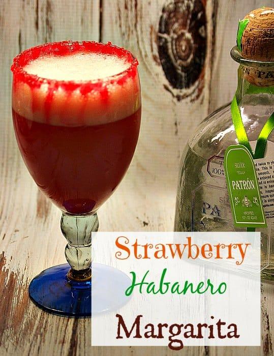 strawberry habanero margarita recipe