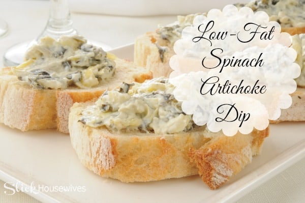low fat spinach artichoke dip recipe