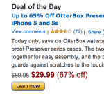 OtterBox Waterproof iPhone 5 and iPhone 5S Case Save 65% or More!