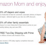 Free Trial of Amazon Mom PLUS $5 Credit!