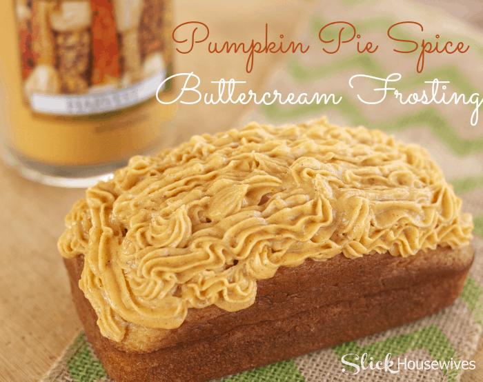 pumpkin pie spice buttercream frosting 2