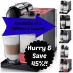 DeLonghi Lattissima Plus Nespresso Capsule System Deal
