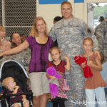Helping Military Families & Saying Thank You