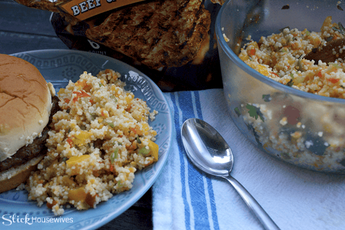 Pepper Couscous Salad Recipe