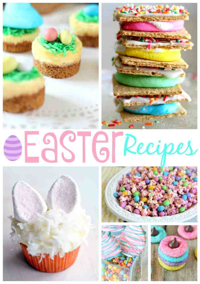 Cute Easter Dessert Recipes