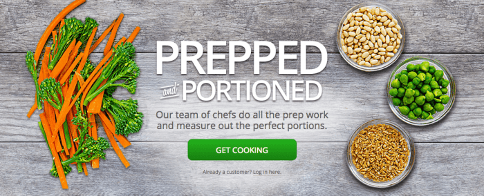 Gobble: Prepared Meal Delivery Kit
