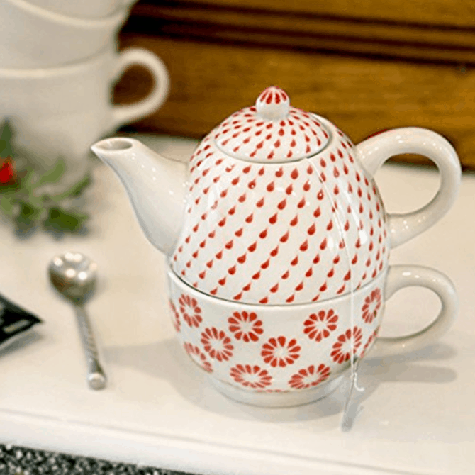Handcrafted Fair Trade Tea Pot