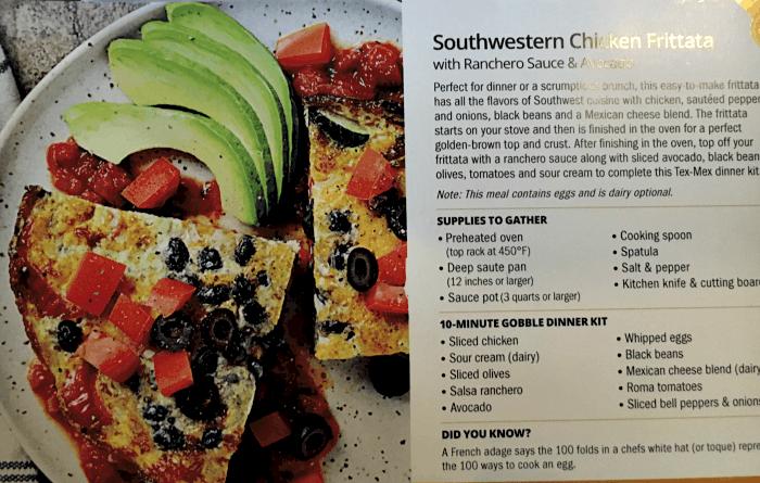 Southwestern Chicken Frittata
