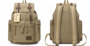 Canvas Backpack As Low As $16.19 Shipped