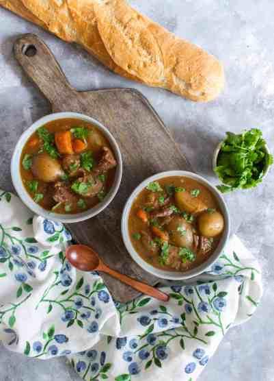 Easy Instant Pot Beef Stew Recipe
