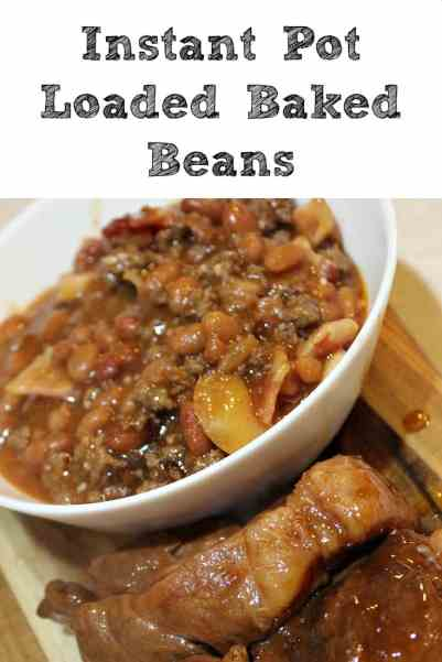 Instant Pot Loaded Baked Beans Recipe