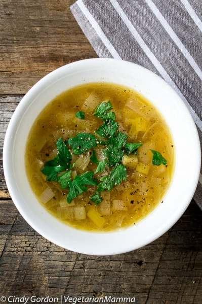 Instant Pot Potato Leek Soup Recipe