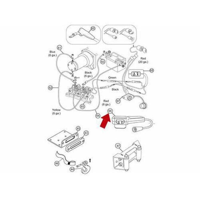 warn wireless remote wiring diagram  kia classic engine