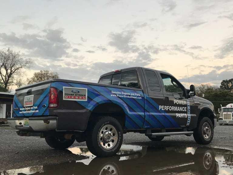 Custom Ford Truck Graphics