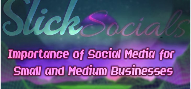 Importance of Social Media for Small and Medium Businesses