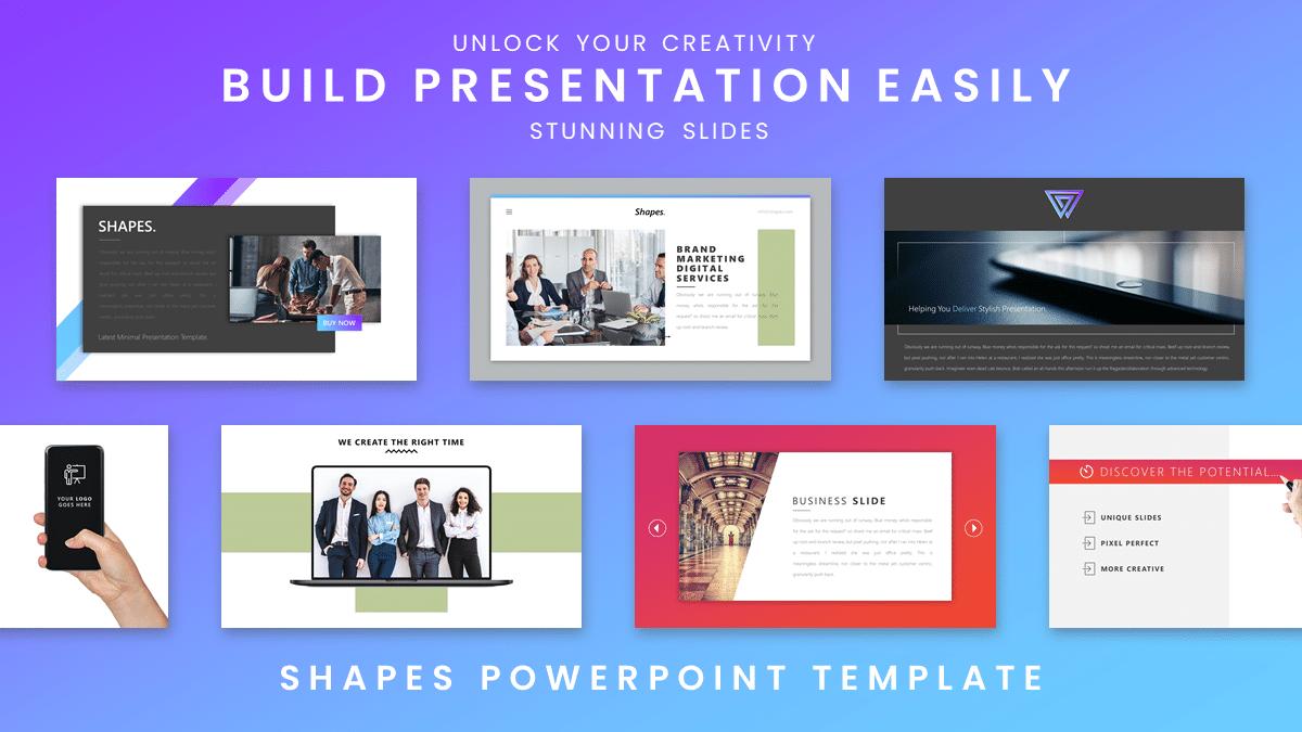 Shapes Free download slide