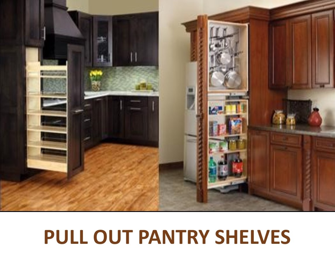 Best Slide Out Shelves: Pull Out Shelves Custom Made To