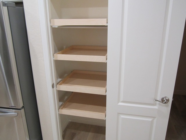 Installing Pull Out Shelves Inside A Pantry Closet