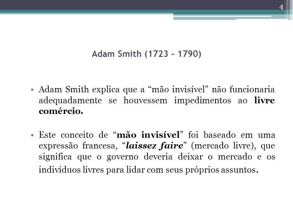 Smith Adam Mao Invisivel