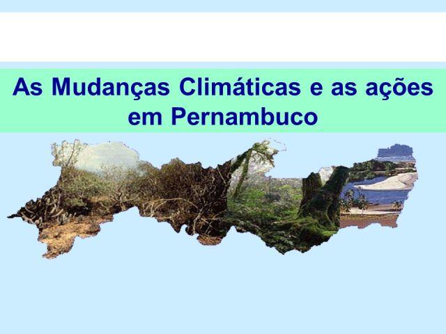 Resultado de imagem para forum pernambuco de mudanças climaticas