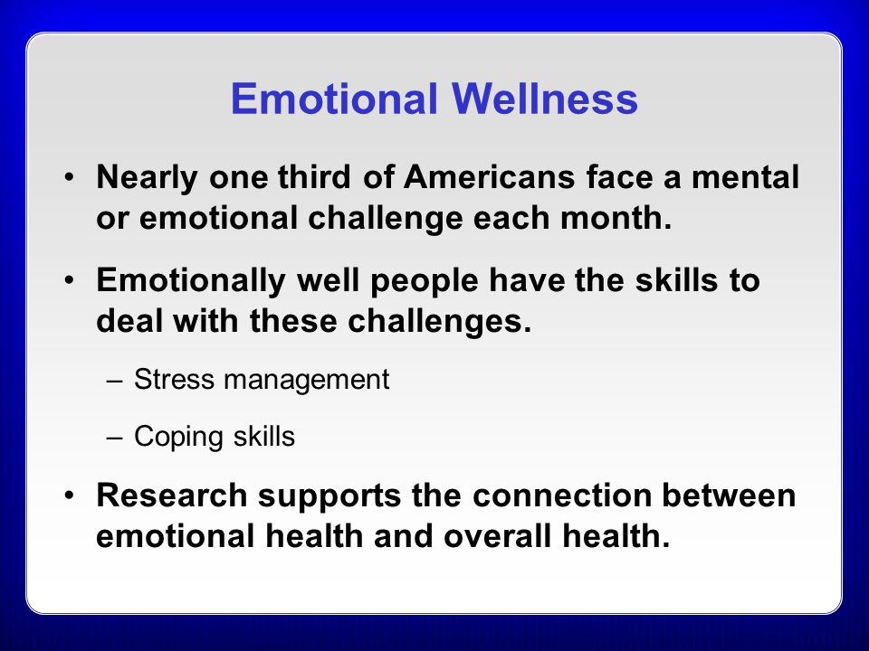 Image result for emotional wellness month