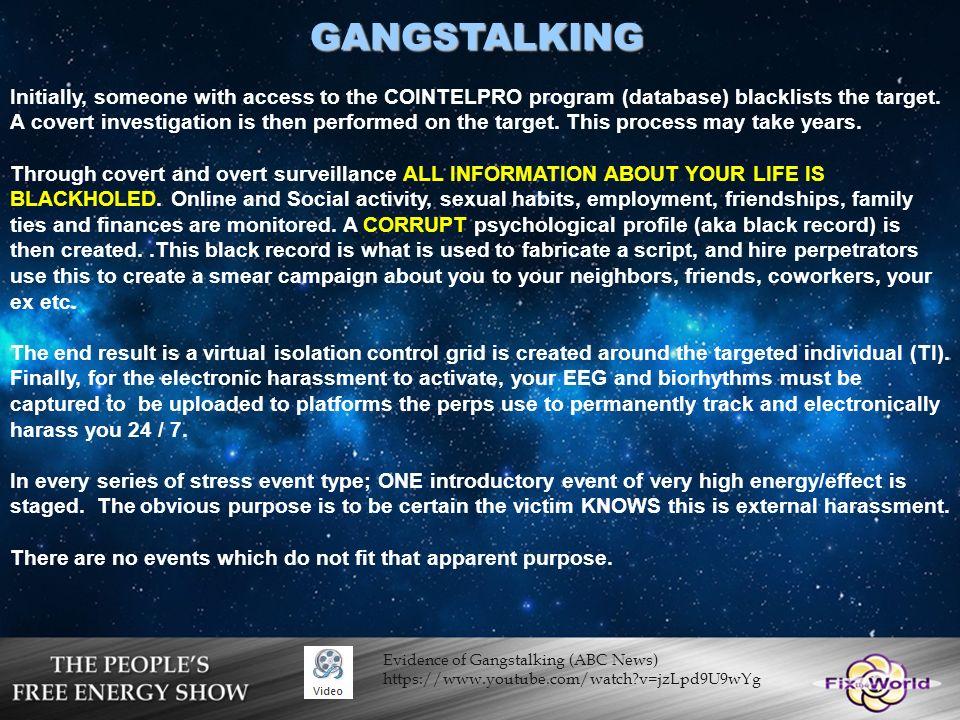Image result for gang stalking employment
