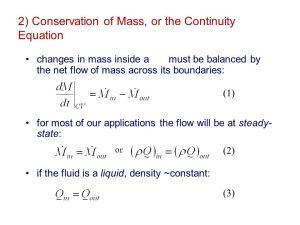 Fundamental (First) Principles of Fluid Mechanics  ppt