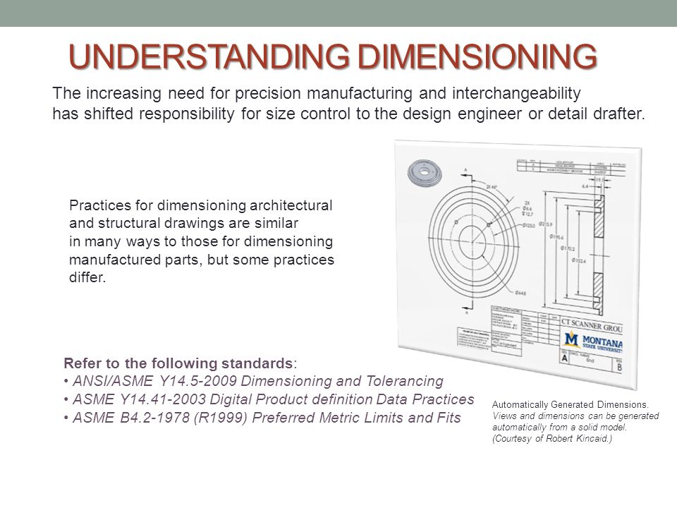 Architectural Dimensioning Standards