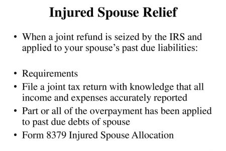Free Fillable Form 2018 Irs Injured Spouse Form Free Fillable Form