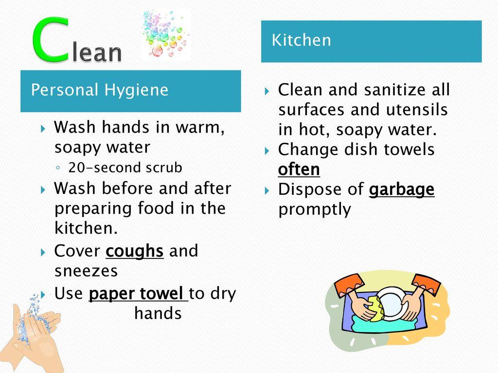 Kitchen Hygiene Rules
