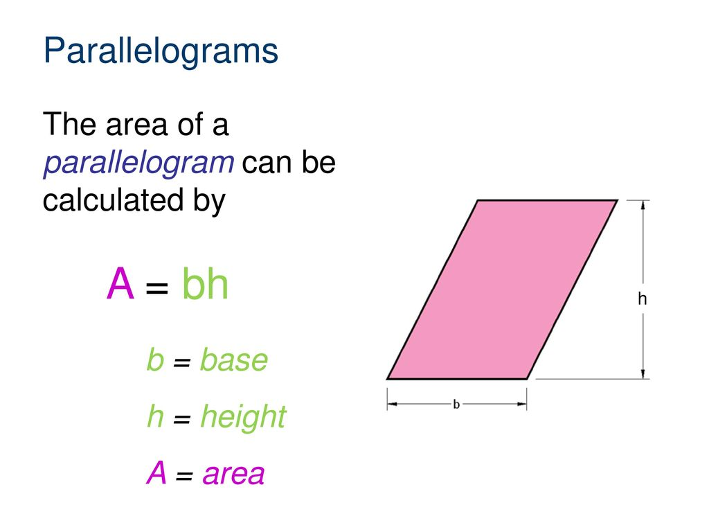 Parallelogram Questions Worksheet