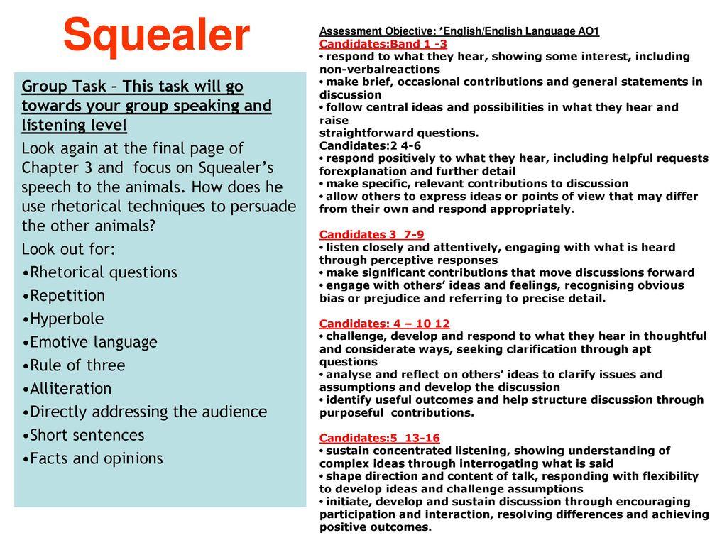 Animal Farm English Literature