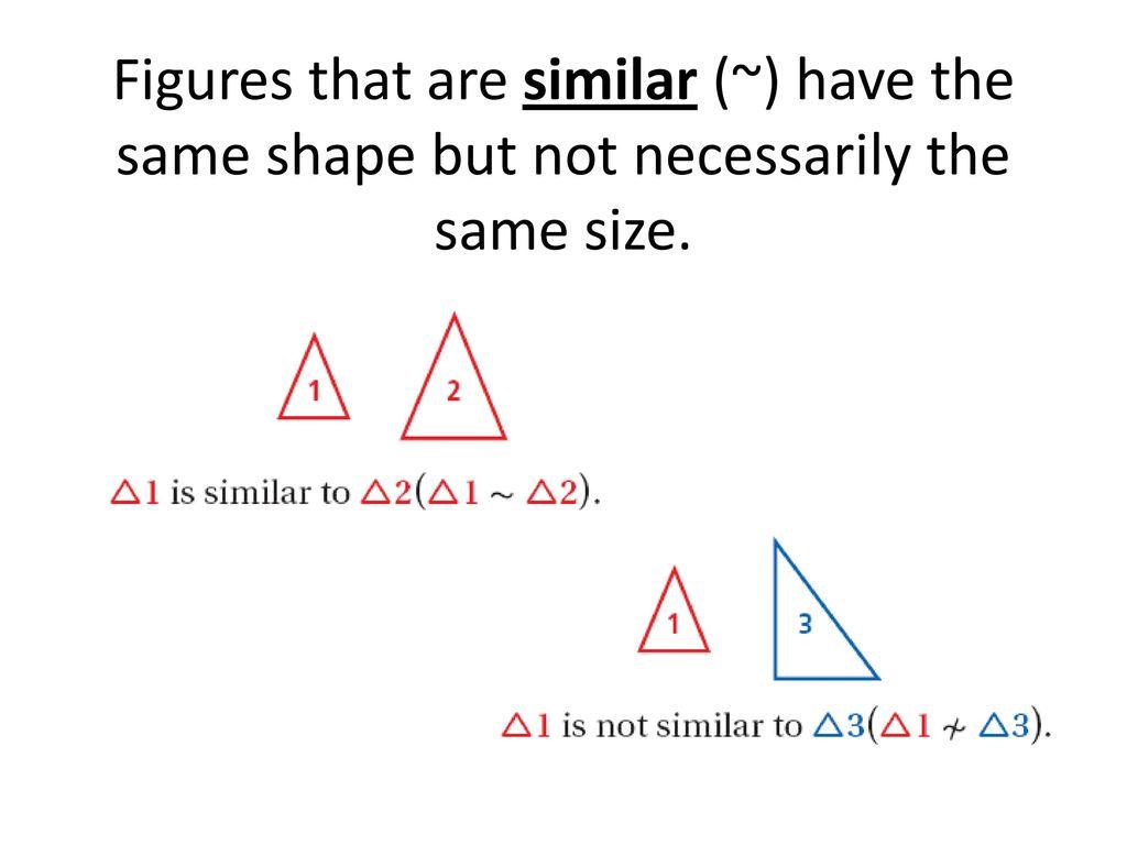 Worksheet Similar Figures And Proportions Worksheet