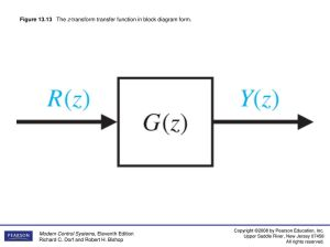 Figure 131 A block diagram of a puter control system
