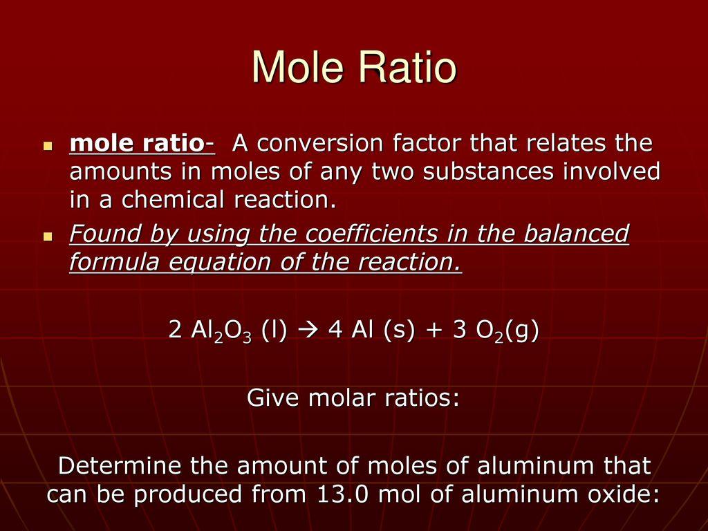 Modern Chemistry Chapter 9 Stoichiometry