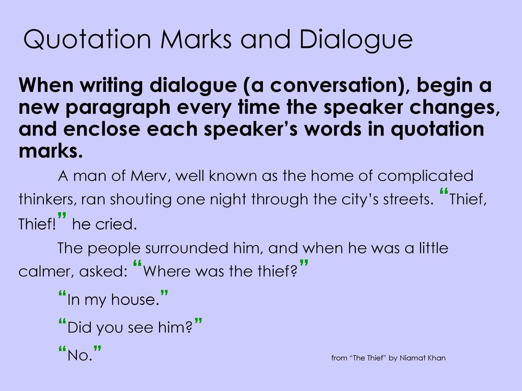 Punctuation End Marks Commas Quotation Marks Italics