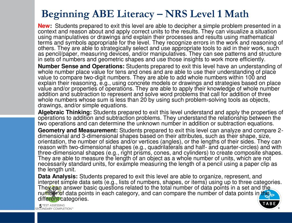 Abe Math Tabe Worksheets Abe Best Free Printable Worksheets
