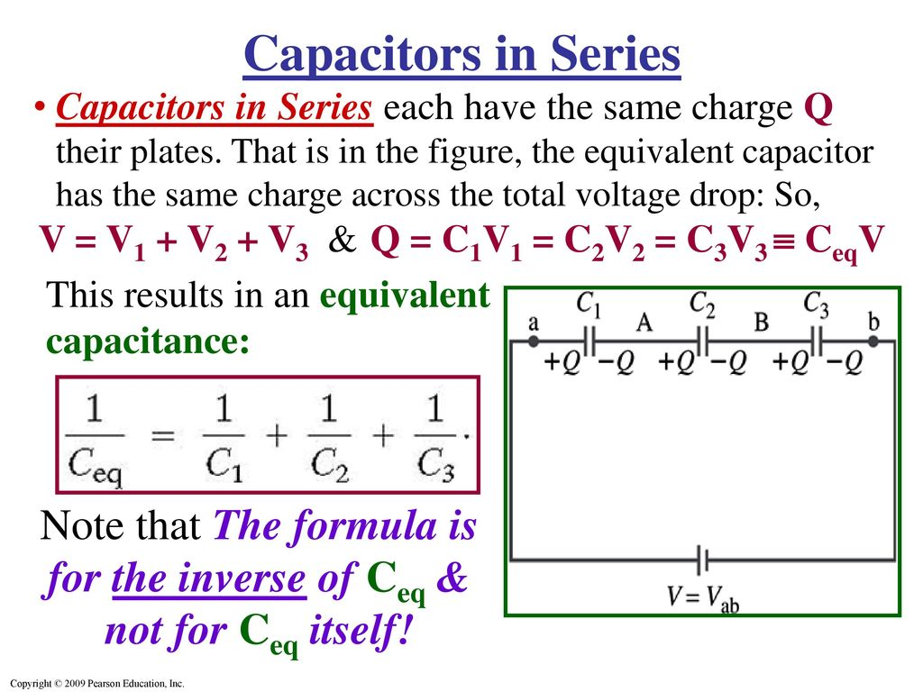Capacitors In Series Amp Parallel