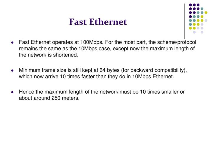 Ethernet Frames Must Be At Least 64 | Frameswall.co