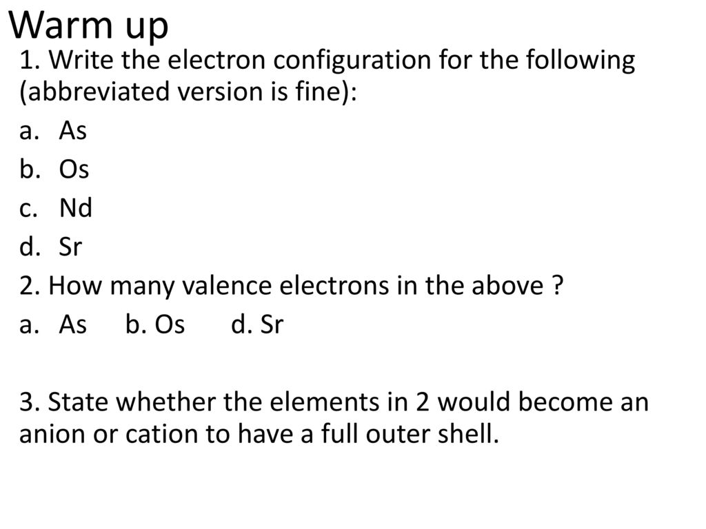 Electrons In Atoms Chapter 4 After Test