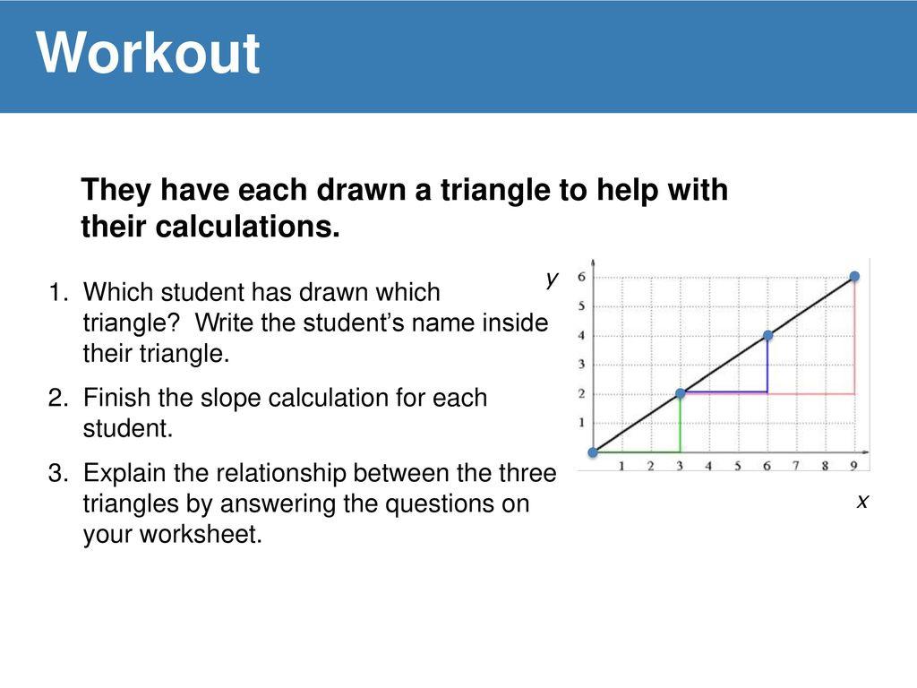 Slippery Slope Worksheet Math Slippery Best Free