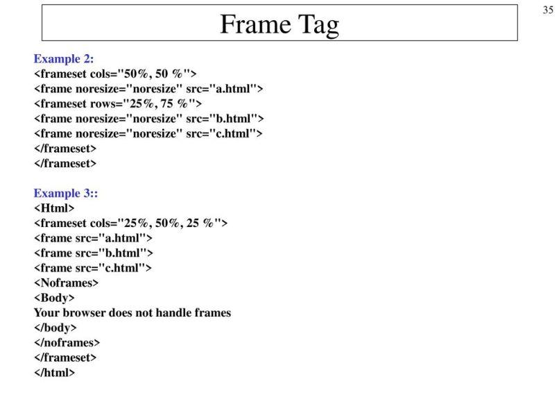 frame noresize | Allframes5.org