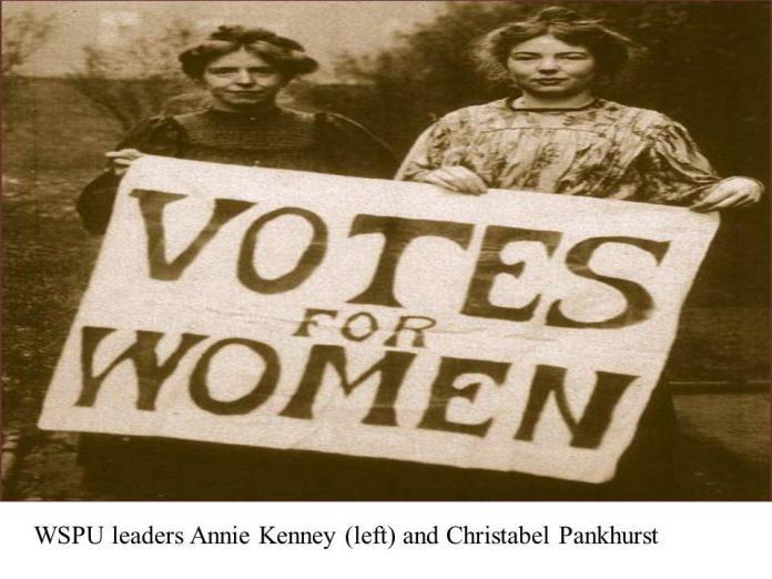 Billedresultat for Christabel Pankhurst and Annie Kenney