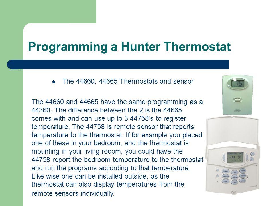 hunter thermostat 44905 wiring diagram wiring data u2022 rh zhuanrang store Hunter 44905 Thermostat Troubleshooting Hunter 44905 Thermostat Wiring Diagram