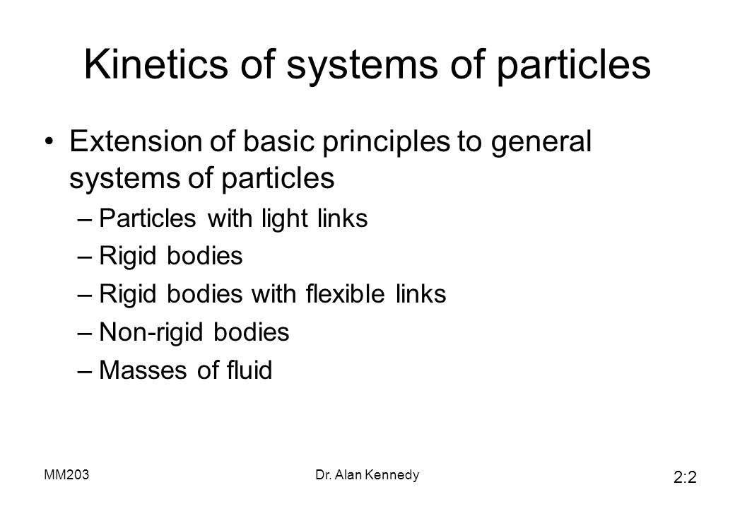General Powered Particle Links