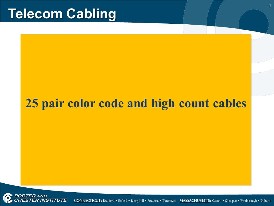 25 Pair Color Chart Code 66