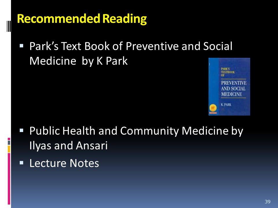 Park public health book zipin recommended reading parks text book of preventive and social medicine by k park public health fandeluxe Images