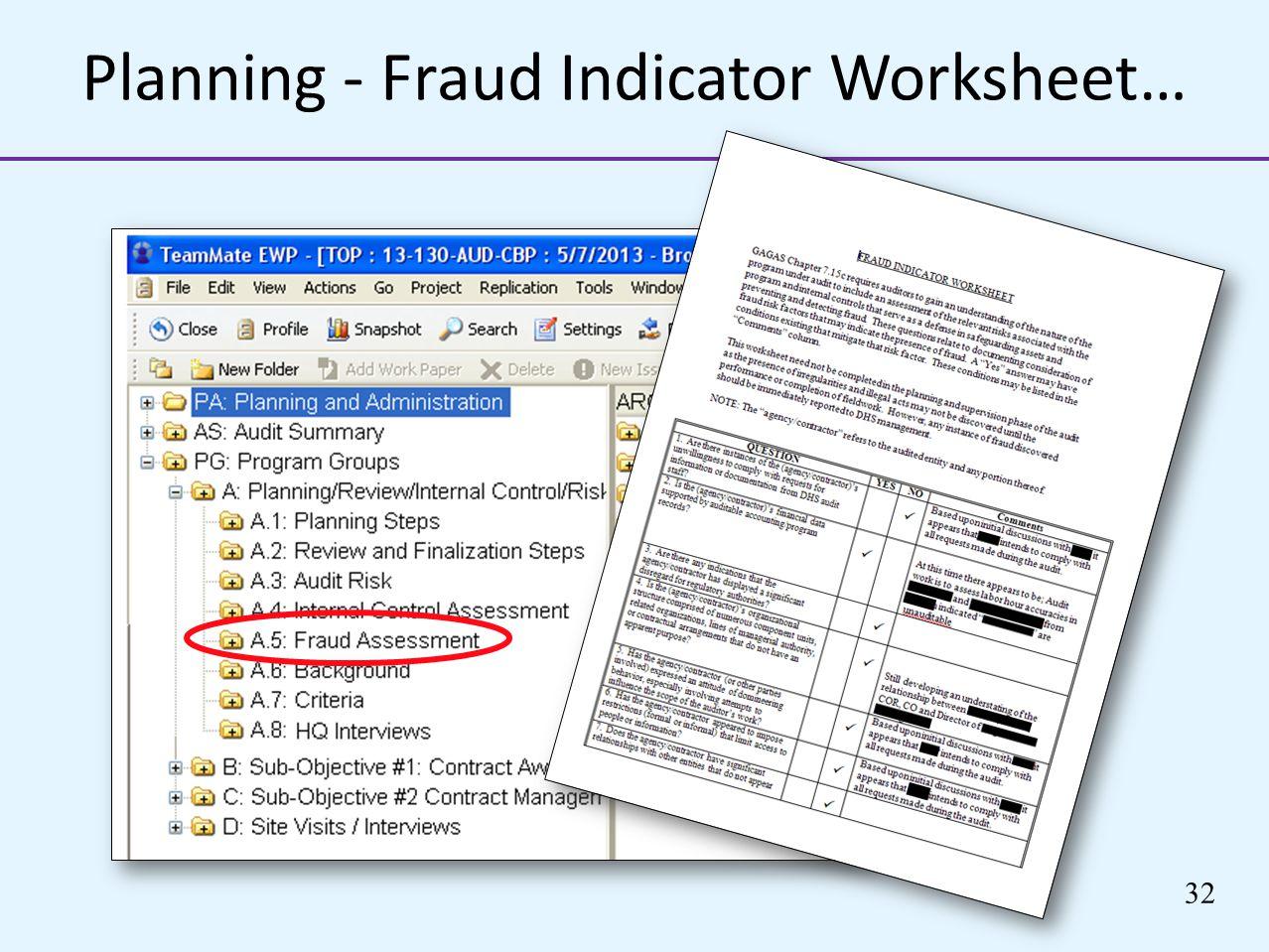 Fraud Busters