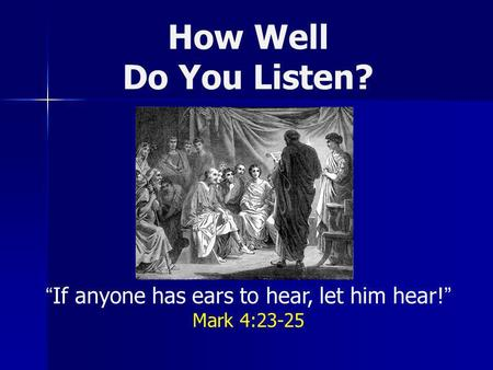 IT'S TIME TO LISTEN. - ppt download