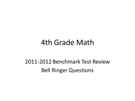 Math Review Topics  Cfa 3 There Are 12 Months In